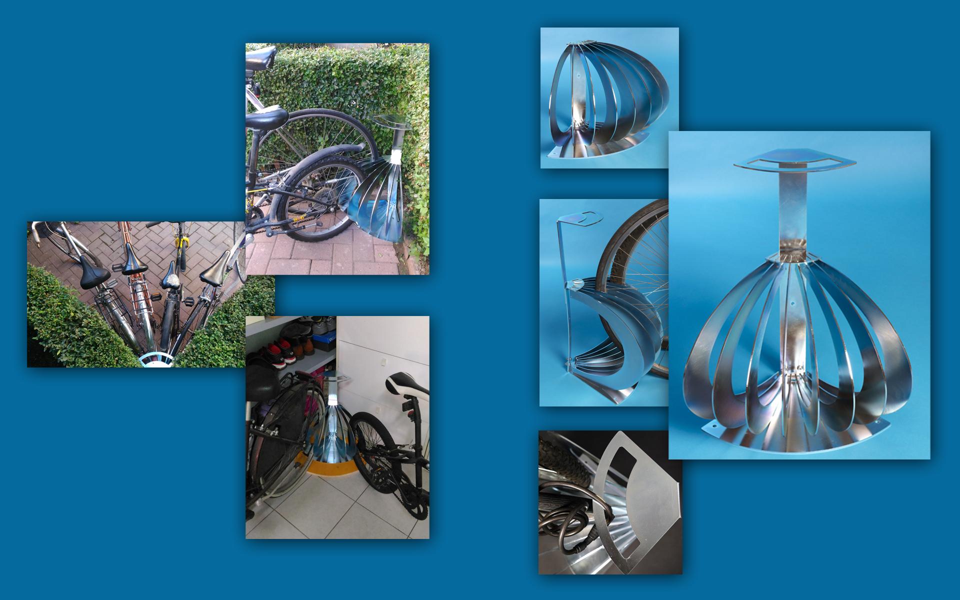 Supporto per bici spicchio